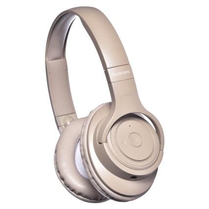 334649--goodmans-wireless-headphones-studio-bass-beige