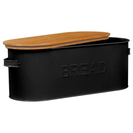 334654-russell-hobbs-oval-bread-bin-with-wooden-lid-black-3