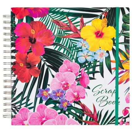 334792-scrap-photo-book-design-floral