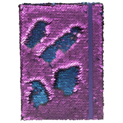 334799-a5-reversible-sequin-notebook-purple-blue
