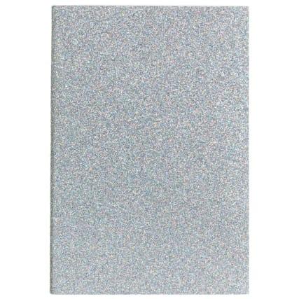 334803-glitzy-glitter-notebook-a6-3pk-grey