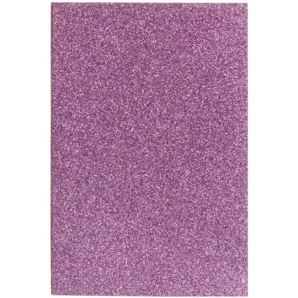 334803-glitzy-glitter-notebook-a6-3pk-main-purple