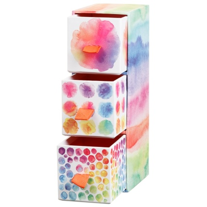 334807-3-drawer-tower-box-watercolour