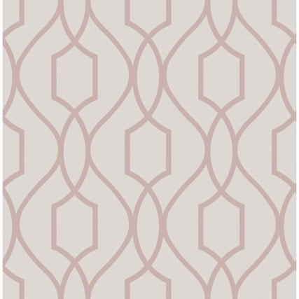 334916-fine-decor-apex-trellis-rose-gold-wallpaper