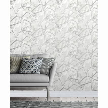 334917-fine-decor-fractal-marble-silver-wallpaper-2