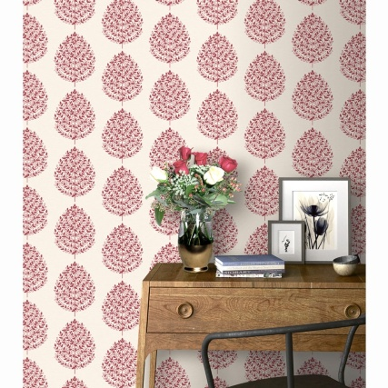 334979-rasch-willow-red-wallpaper