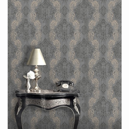 334982-rasch-arley-damask-charcoal-wallpaper