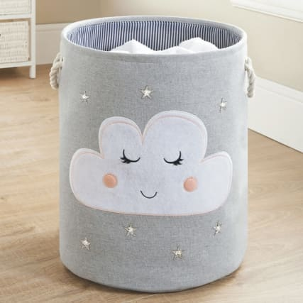 Kids 3D Laundry Hamper - Cloud