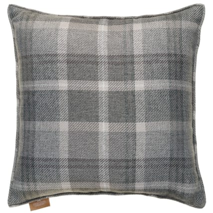 335393-heritage-colection-oakland-woven-check-cushion-grey