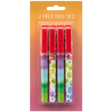 335420-fashion-4pack-ball-pens-watercolour