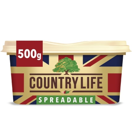 Country Life Spreadable Butter 500g