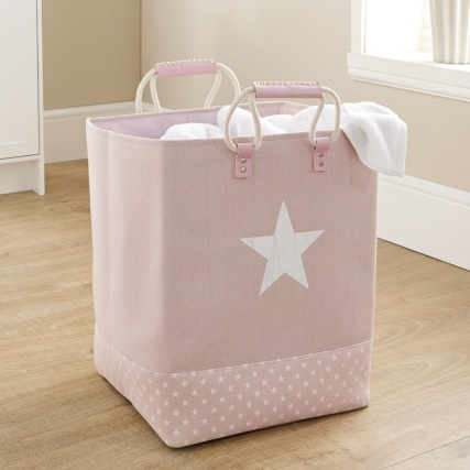 335844-premium-soft-laundry-bag-with-rope-handle-pink