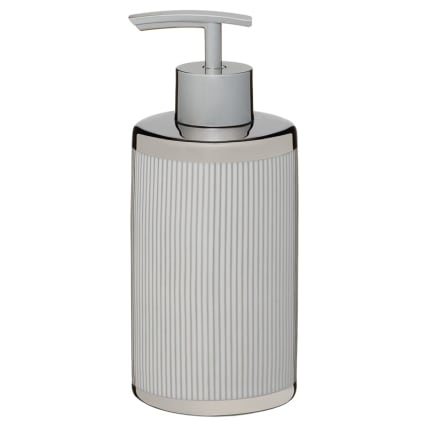 336191-metallic-printed-soap-dispenser-silver-stripes
