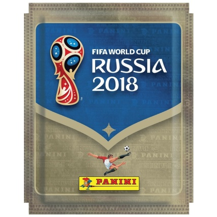 Panini World Cup 2018 Sticker Pack