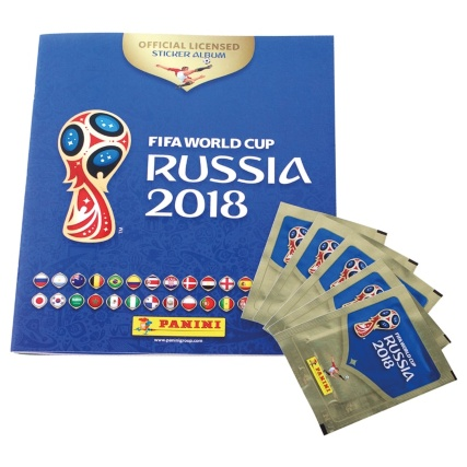 Panini World Cup 2018 Starter Pack (Album + 5 packs)
