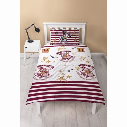 Harry Potter Reversible Single Duvet Set Bedding B Amp M