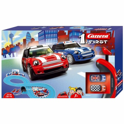Carrera First Mini Cooper Race Track Toy Cars Rc Cars