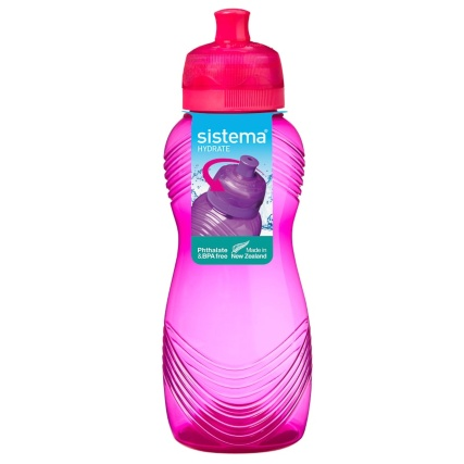 Sistema Wave Bottle 600ml - Pink
