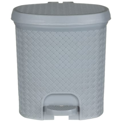338195-knit-effect-pedal-bin-grey