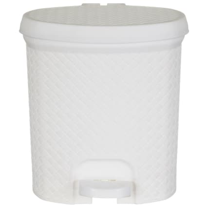 338195-knit-effect-pedal-bin-white