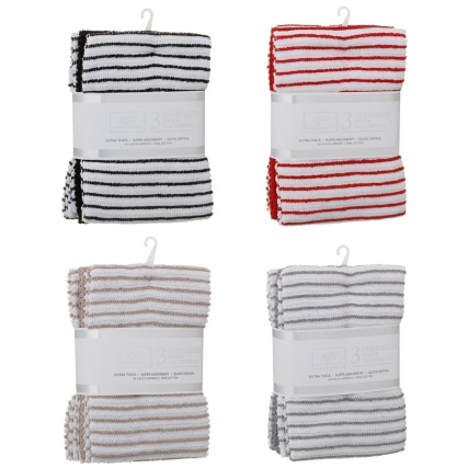 338799-3pk-stripe-rib-tea-towel-black