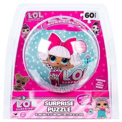 L.O.L Surprise! Puzzle Ball 60pc