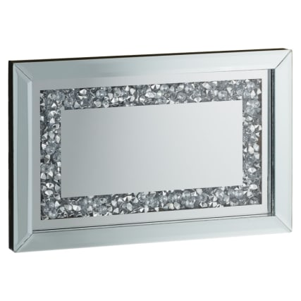 Karina Bailey Mirrored Diamond Tray Home Accessories B Amp M