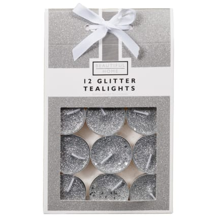 339603-beautiful-home-12-glitter-tealights-silver