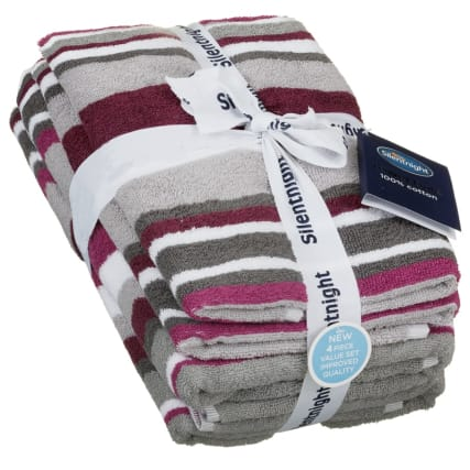 340007-silentnight-coastal-stripe-4pk-mulberry