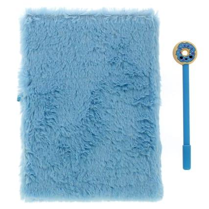340063-plush-notebook--novelty-pen-blue-4