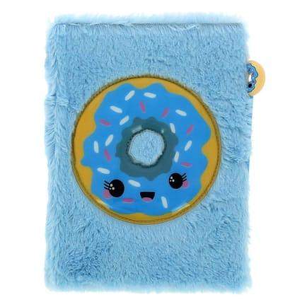 340063-plush-notebook--novelty-pen-blue