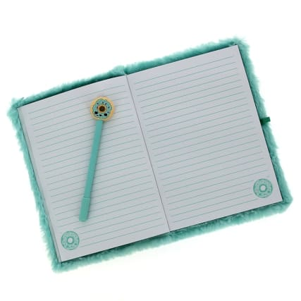 340063-plush-notebook--novelty-pen-green-2