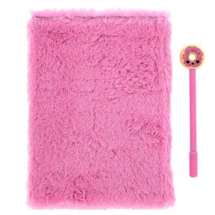 340063-plush-notebook--novelty-pen-pink-2