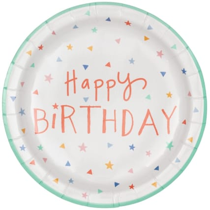 340123-16-pack-kids-party-paper-plates-happy-birthday-2