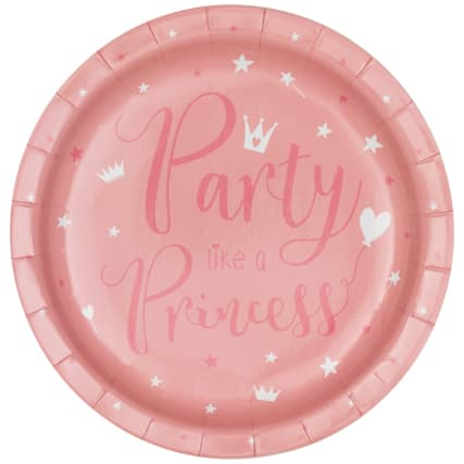 340123-16-pack-kids-party-paper-plates-party-like-a-princess-2