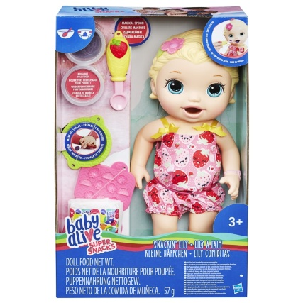 Baby Alive Snackin Lily Dolls Accessories B M