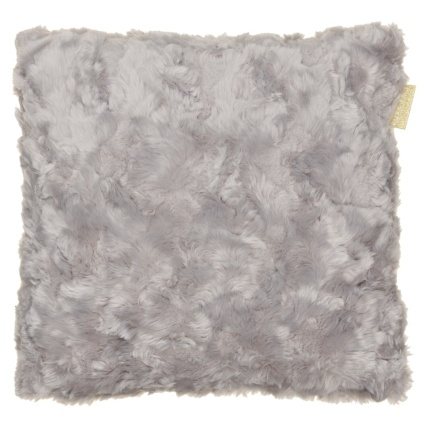 340403-luxe-fur-sculptured-faux-fur-cushion-silver