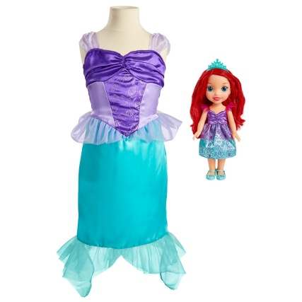 340454-doll-and-dress-princess-ariel
