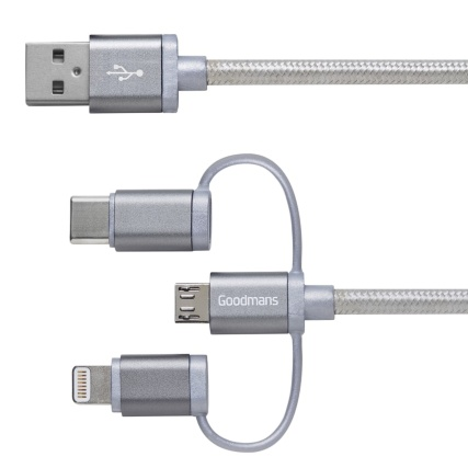 340620-goodmans-3-in-1-charge-sync-cable-3m-grey-2