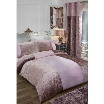 Karina Bailey Sparkle King Duvet Set Blush Bedding B Amp M