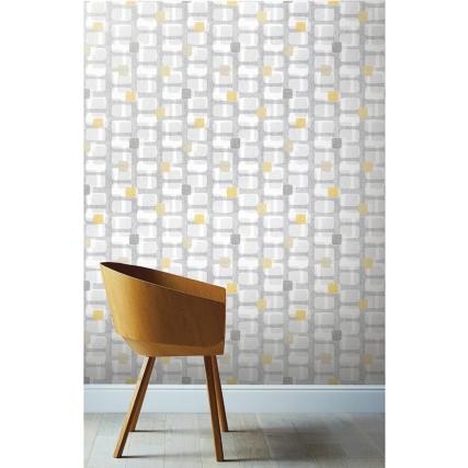 341257-arthouse-retro-block-grey--ochre-wallpaper