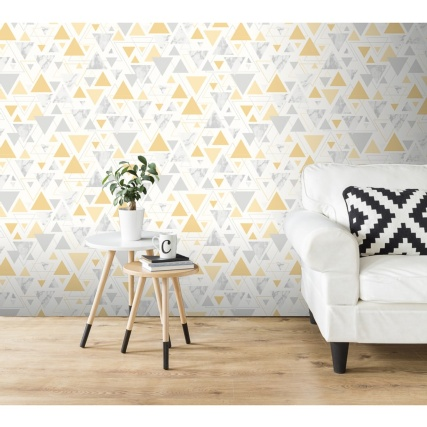 341482-debona-chantilly-yellow-and-grey-wallpaper
