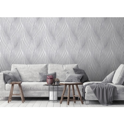 341486-debona-waves-silver-wallpaper