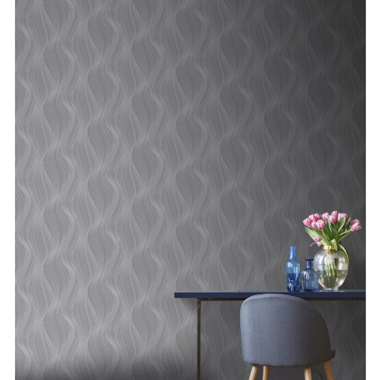 341505-muriva-orla-wave-slate-wallpaper