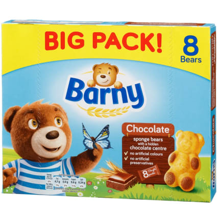 341639-barny-8pk-chocolate-sponge-bears-240g