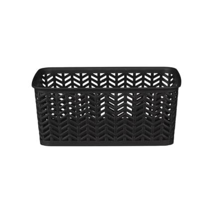 341940-chevron-plastic-basket-black-2.jpg