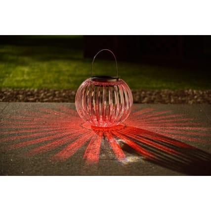 341991-solar-decorative-acrylic-caged-clear-lantern-red