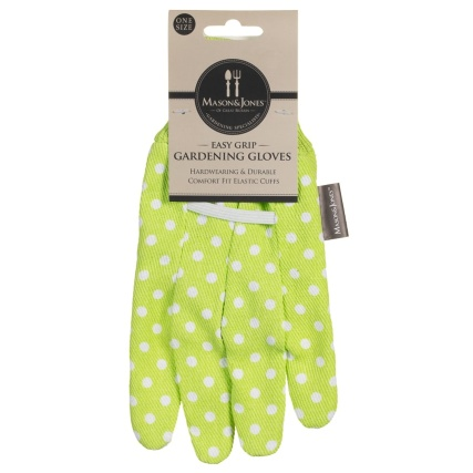 342095-mason--jones-easy-grip-poly-cotton-gloves-lime-green-polka-dot