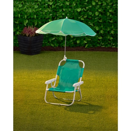 342381-kids-chair-with-parasol-green