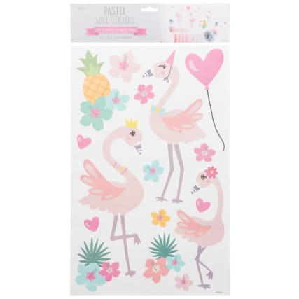 342613-pastel-wall-stickers-flamingos